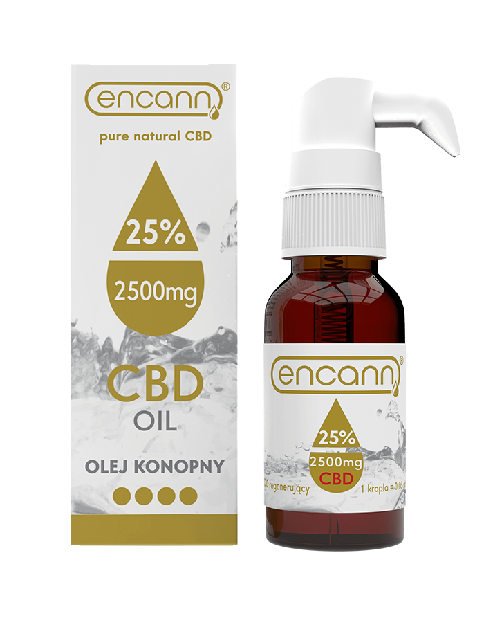 highest strength of cannabidiol in a drop with applicator ENCANN